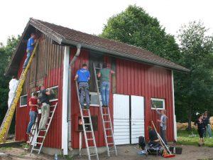 Betriebsausflug Ideen für Renovieren, Malern & Verschönern