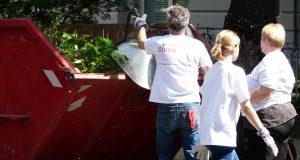 Gartenabfälle beseitigen