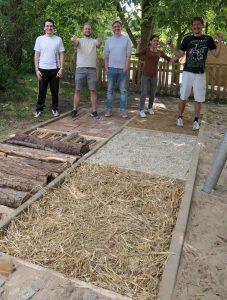 Ergebnis Barfußpfad vom Teambuilding im Garten